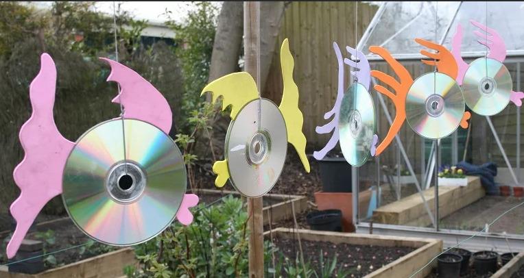 Рыбки из дисков