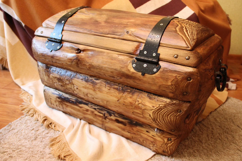 Из деревянного бруса
