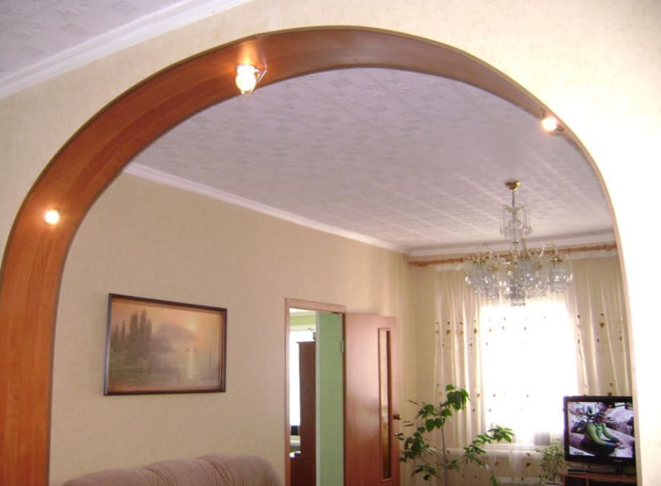 Дугообразная арка