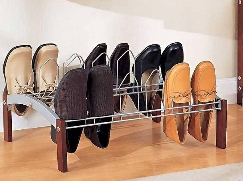 Для вертикального размещения обуви