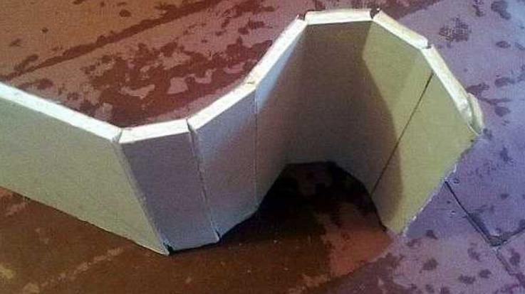 Переломы для формирования арки