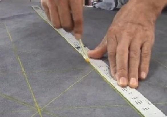 Разметка на ткани