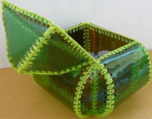 Шкатулка из пластика