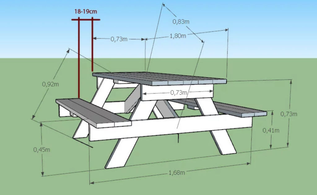 Стационарный стол