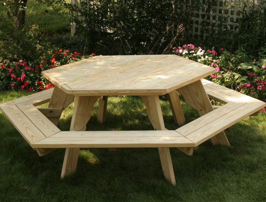 Пример готового стола