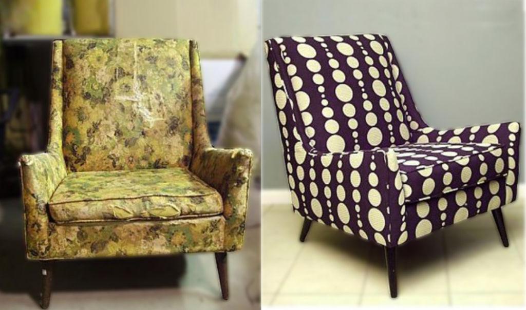 Вариант преображения кресла