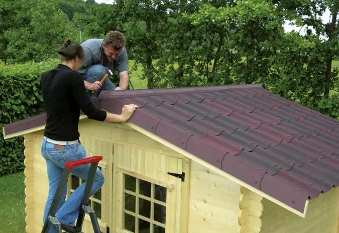 Крыша для кухни