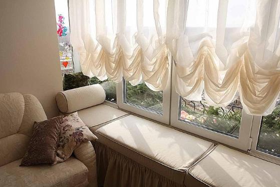 Фпанцузкие шторы