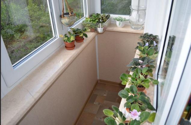 Подоконник на балкон