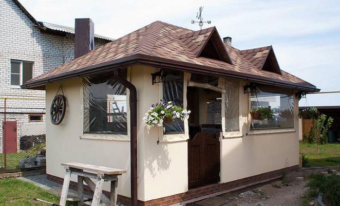 Кухня недалеко от дома