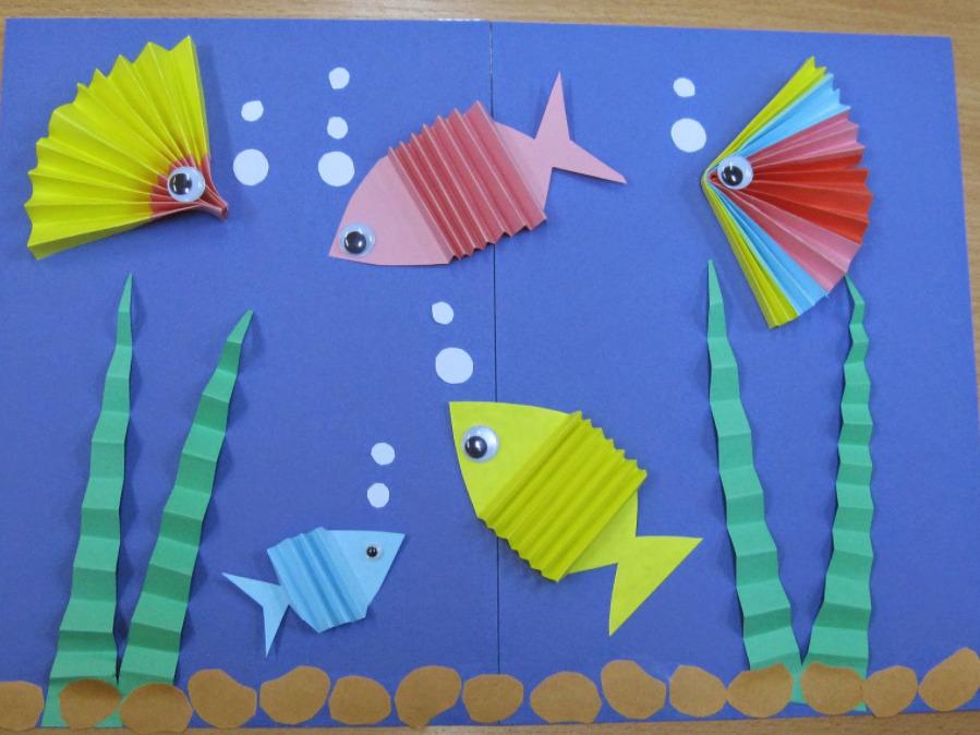 Поделка рыбки