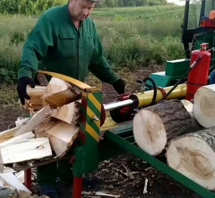 Работа на тракторной тяге