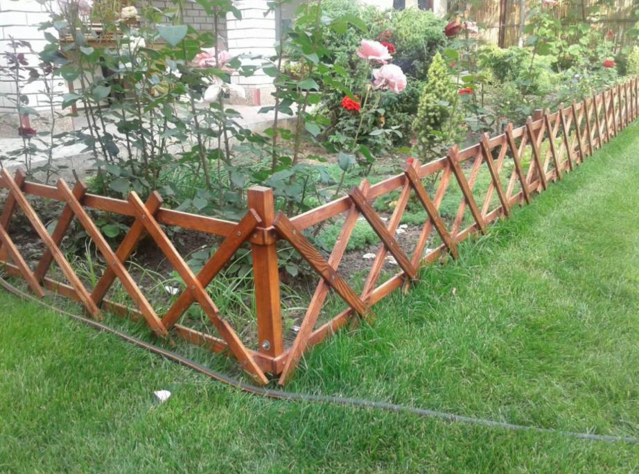 Забор из реек