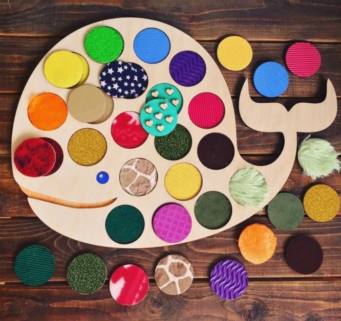 Планшет для изучения цветов