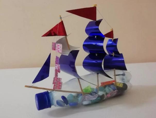 Корабль из бутылки